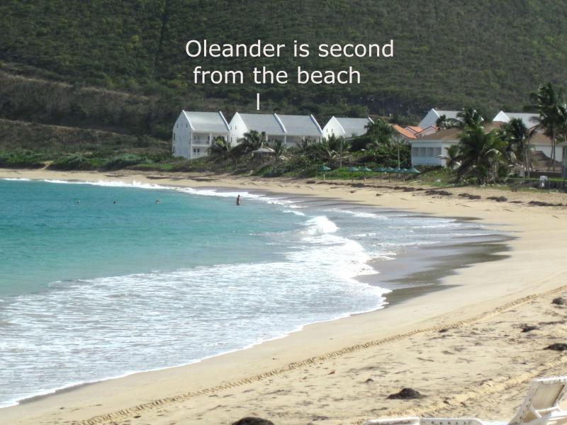 Emplacement parfait plage