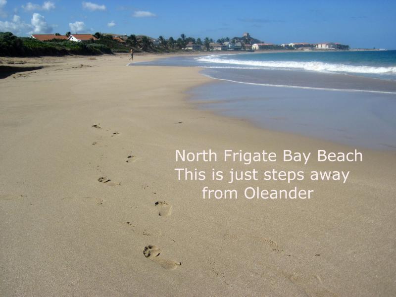 A piedi verso l'esterno su questa spiaggia!!!