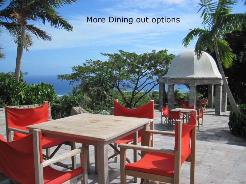 Uno dei tanti ottimi ristoranti le opzioni
