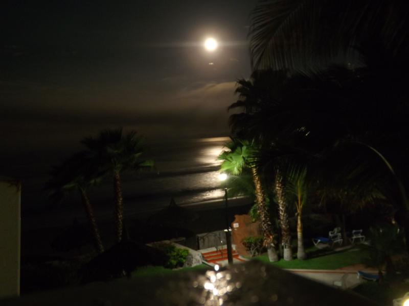 Full Moon Setting Over the Pacific From the Den/2nd Bedroom