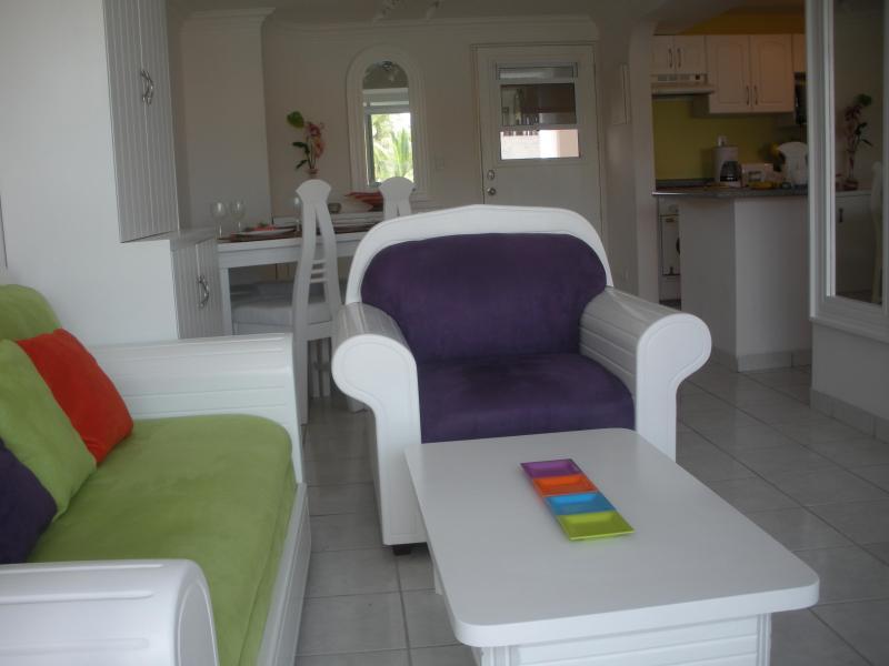 Living Room from Doorway to Balcony