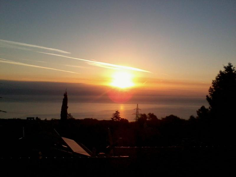 sunrise-view from house