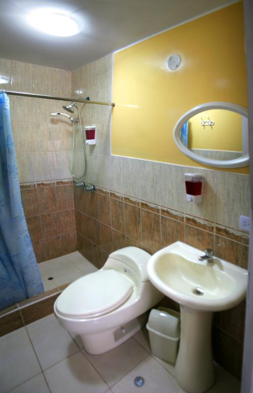Todas las habitaciones con baño privado