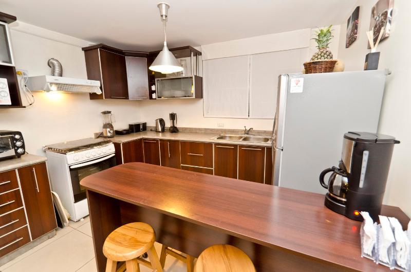 Casa rural por habitaciones cocina