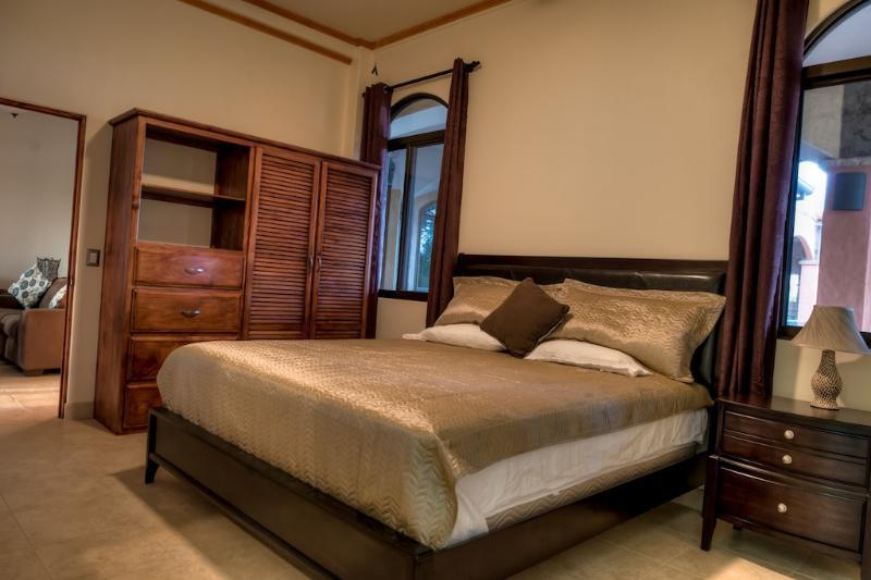 Condo #4 master bedroom