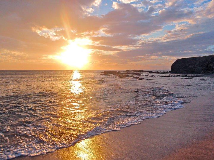Junquillal sunset