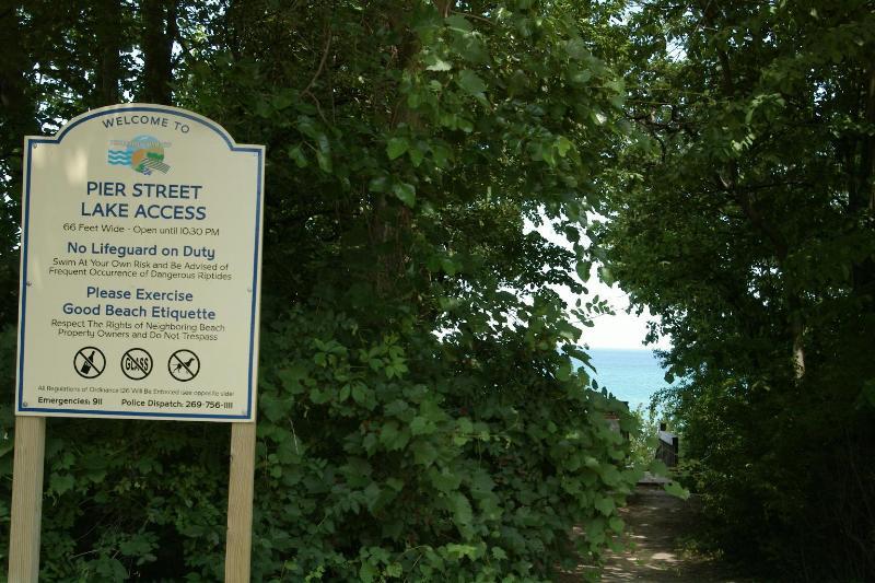 A quelques minutes de marche sur la route vous conduira à Pier Street Beach