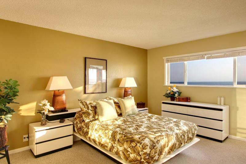 Cozy and Comfortable Master Bedroom with Plenty of Storage