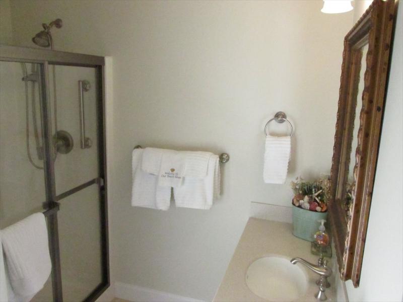 Second floor master bedroom with full bath