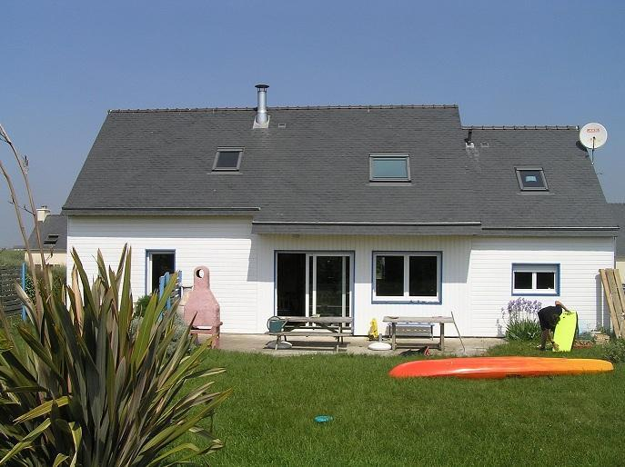 AUDIERNE' BAY s heart,  wood house 10 persons, holiday rental in Finistere