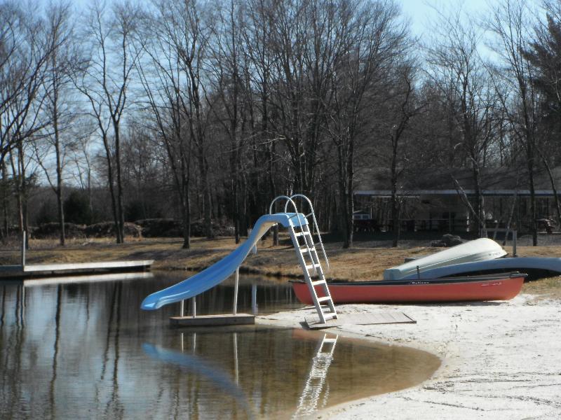 Community Beach and Slide