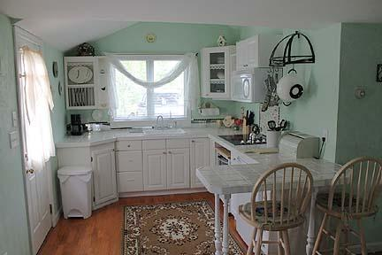 Kitchen/Dining Area of Cottage