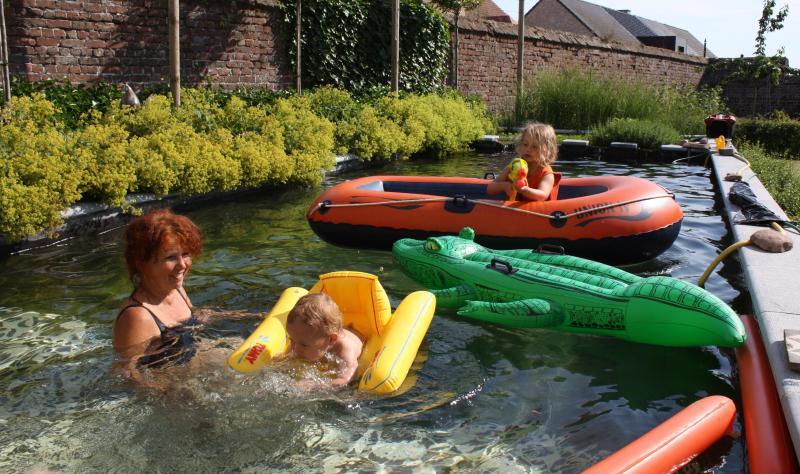 étang de baignade