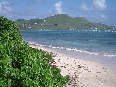 Secluded beach at Paradise Point, St. Croix