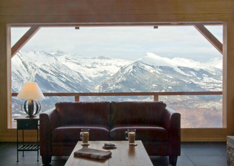 Secret Alps room with a view