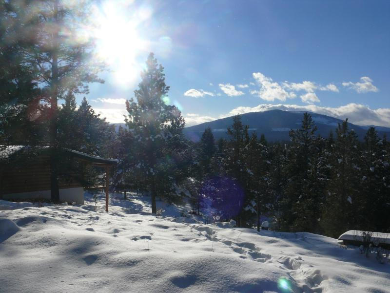 view towards Lake Koocanusa