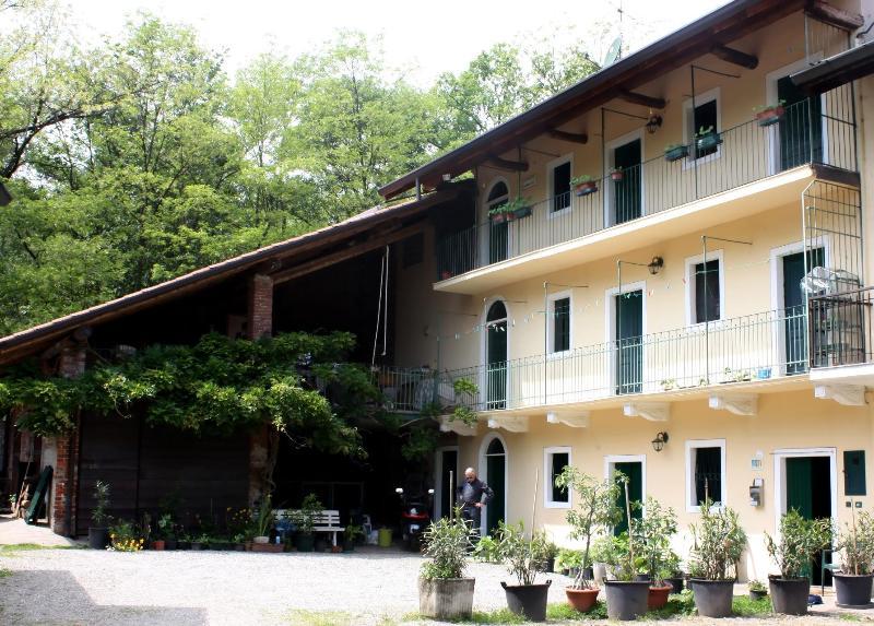 Front of Cascina Cesarina Lake Maggiore