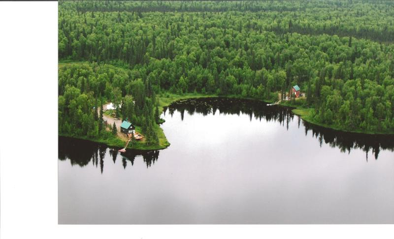 Ariel View of the Cabins