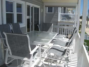 Front deck with panoramic views of the ocean from Atlantic City to Sea Isle - 1 of 2 decks