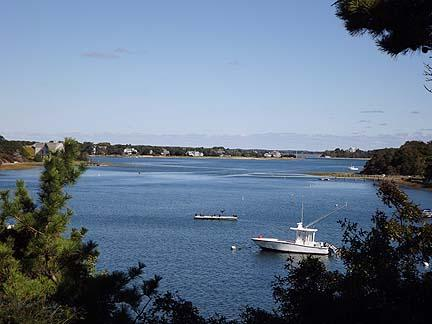 View of Pleasant Bay from House