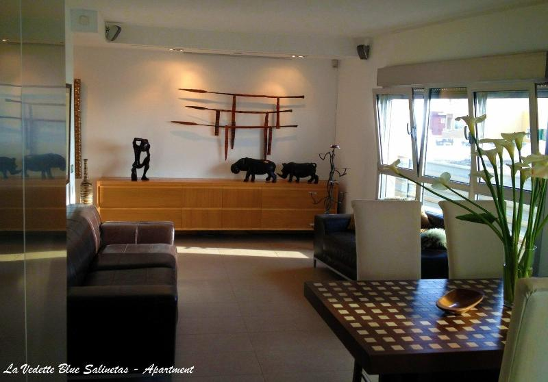 La Vedette Blue Salinetas - Apartment - Gran Canaria - Living Room