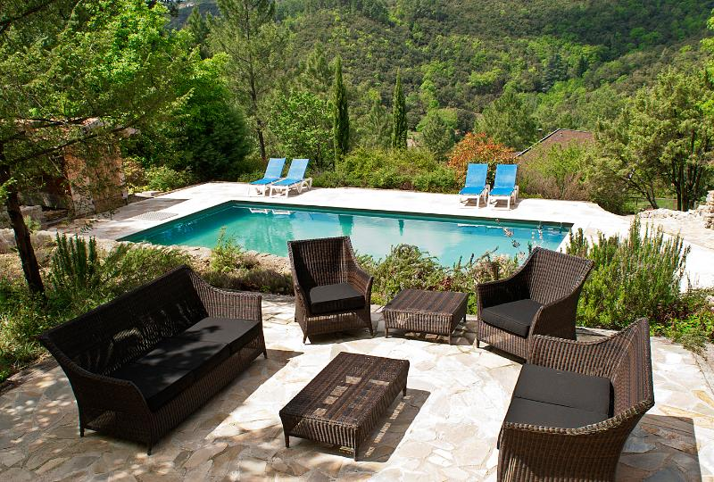 Beautiful holiday house in the south of France, holiday rental in Corbes