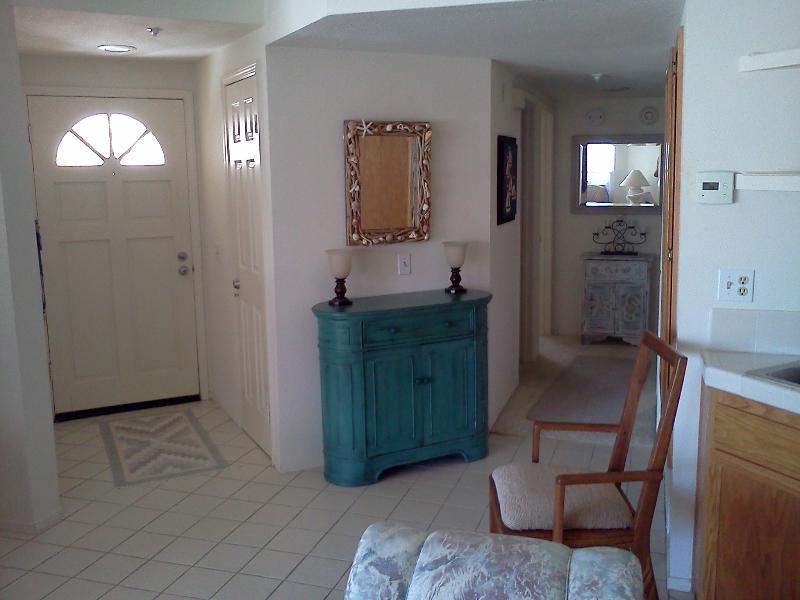Entry Door - hall towards bedrooms