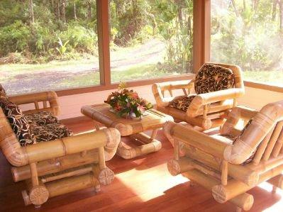 Projeté en salon permet la circulation d'air frais, plus de meubles en bambou de taille pour votre confort