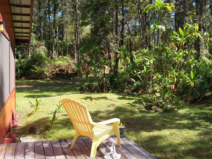 S'asseoir sur la véranda et apprécier les vues et les sons de la forêt tropicale
