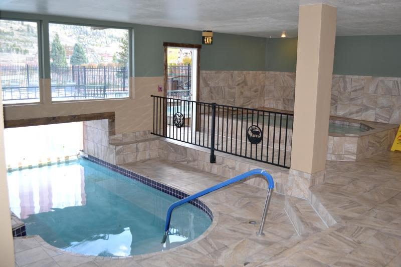 Indoor pool entrance