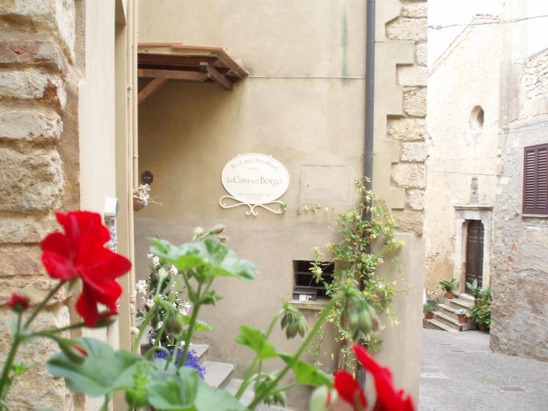 La entrada de La Casa nel Borgo