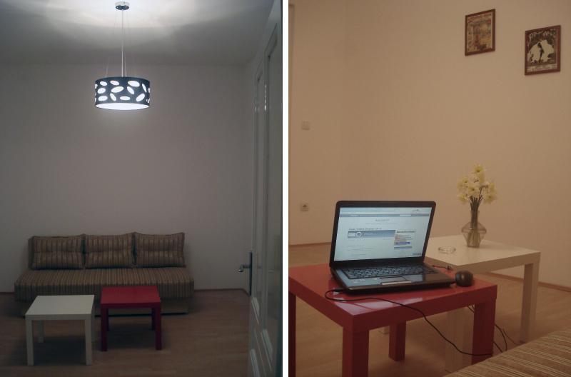 Living/sleeping/hanging/working room.