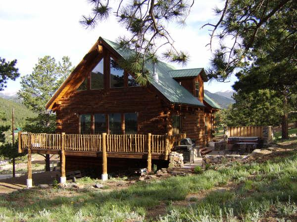 Mountain Log Home Near Rocky Mountain National Prk, vacation rental in Estes Park