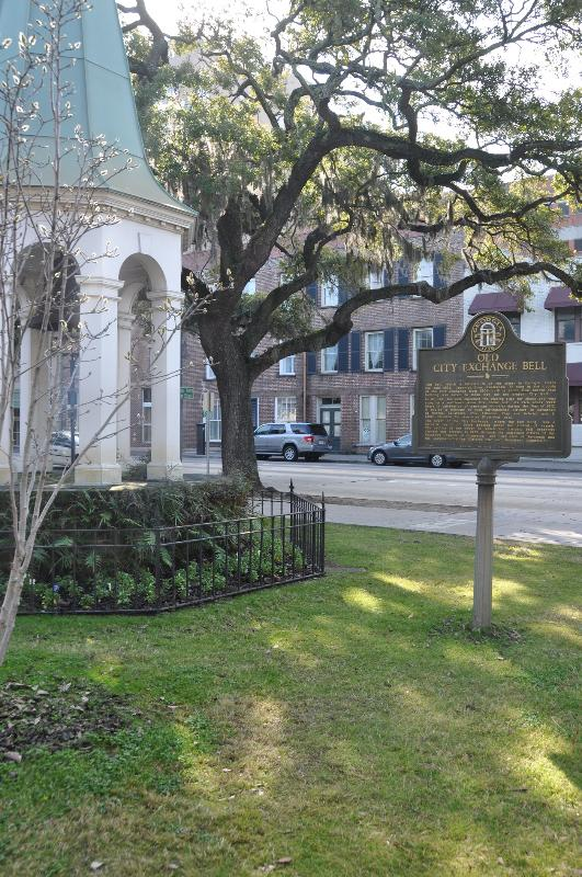 View of Oglethorpe Lodge from across the street, near the Riverfront.