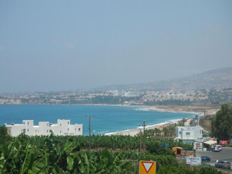 Sitio propuesto Kissonerga Bahía del nuevo puerto deportivo