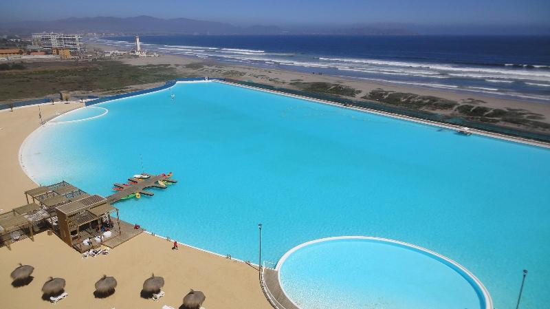Resort Laguna del Mar with sea views, vacation rental in La Serena