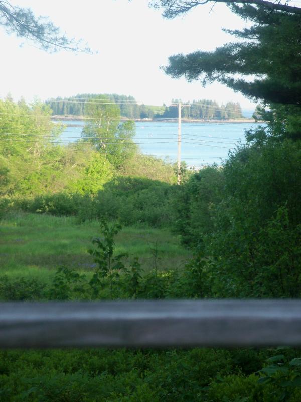 Deck view cottage