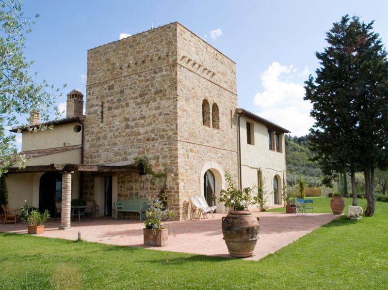 Villa Olivo ROSETO, holiday rental in Certaldo