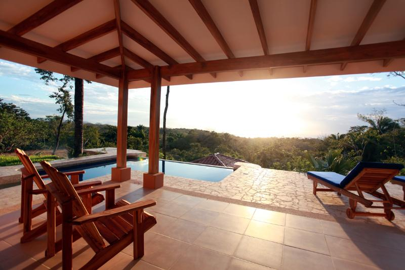 Enjoy the view near the pool
