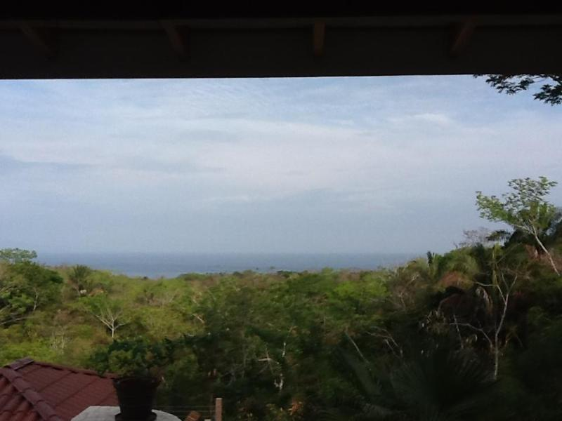 View from the upper patio