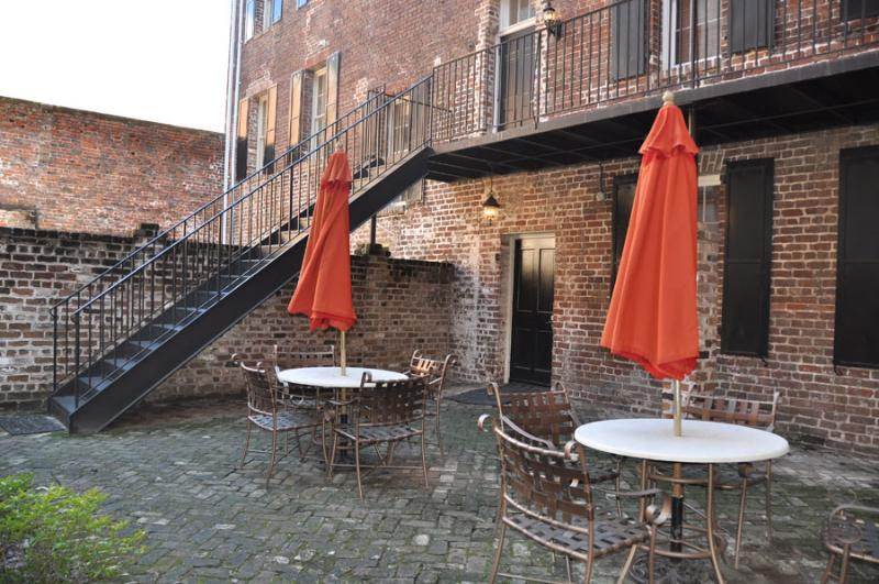 Relax or dine in your own private couryard!