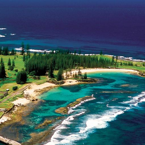 Norfolk Island's Emily Bay - the Best Swimming Beach in the World