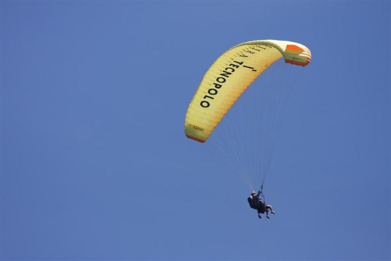 Paraglide over the house (This is offered as a service close by)