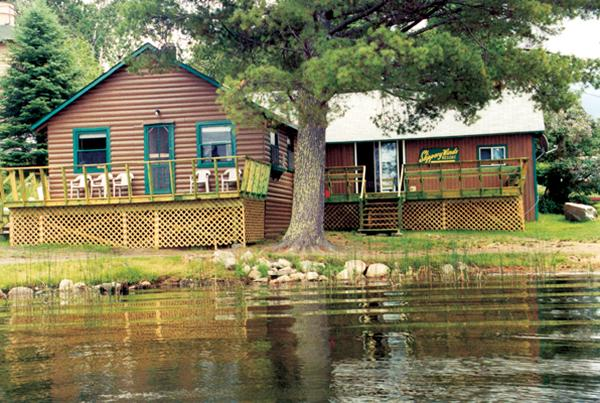 Slippery Winds Wilderness Lodge, Yoke Lake, NW Ont, holiday rental in Fort Frances