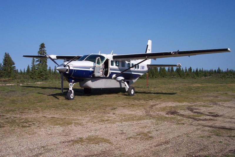 Cessna Grand Caravan on our Airstrip