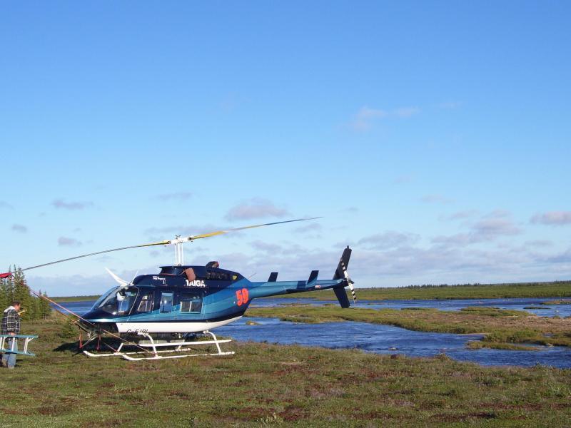 Bell LongRanger II Helicopter