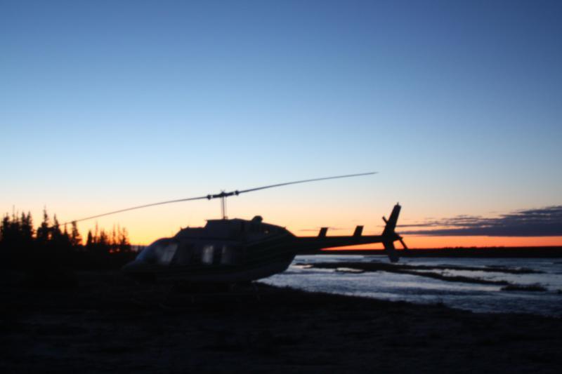 Sunrise on Hudson Bay