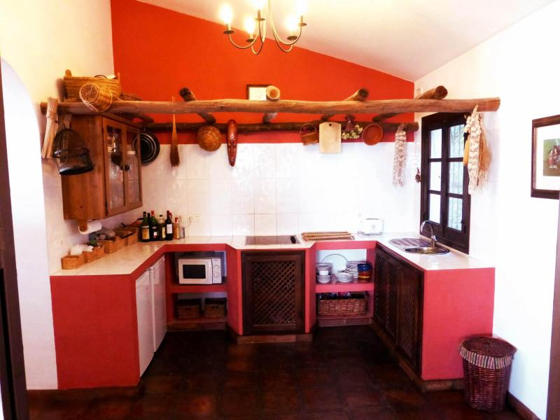 Kitchen - No frills. Rustic, Simple and Practical.