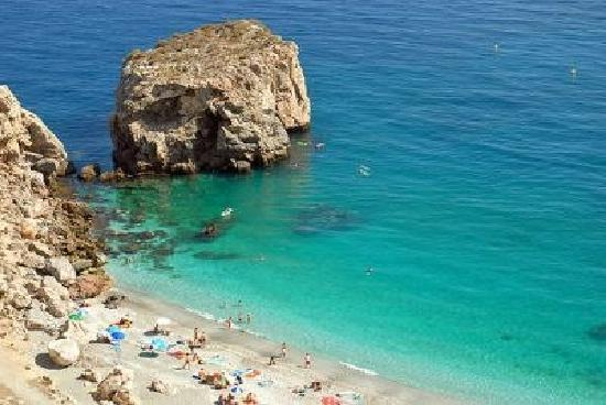 Beaches and Coves at Nerja.