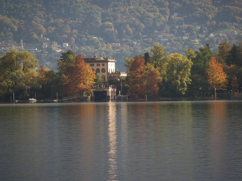 Isole di Brissago in Autumn